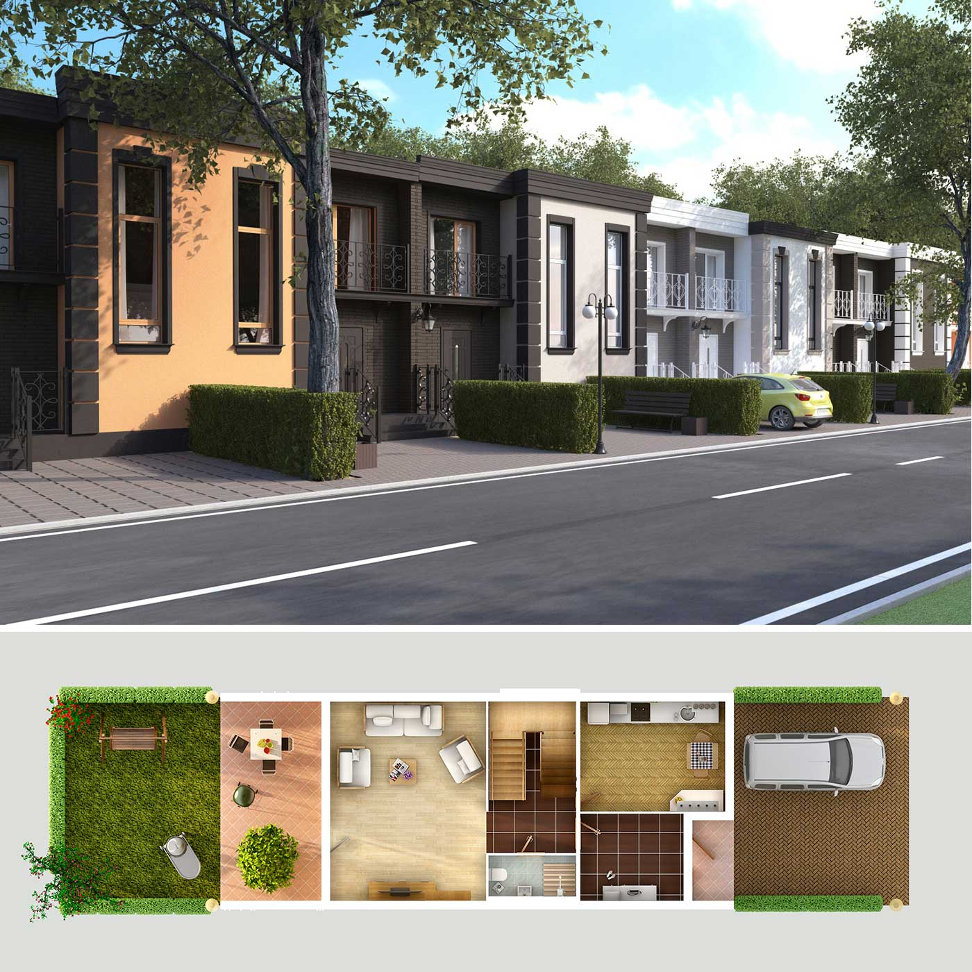 Design and visualization commercial properties